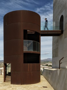 Castillo Miras Arquitectos Restoration of the Nasrid Tower of Huercal-Overa. Almeria