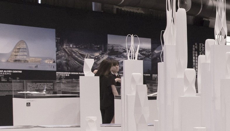 Global Design Laboratory Zaha Hadid Architects Exhibition In Taipei Floornature