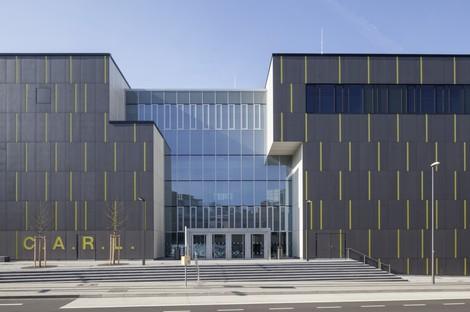 Schmidt Hammer Lassen Architects, C.A.R.L. auditorium in Aachen