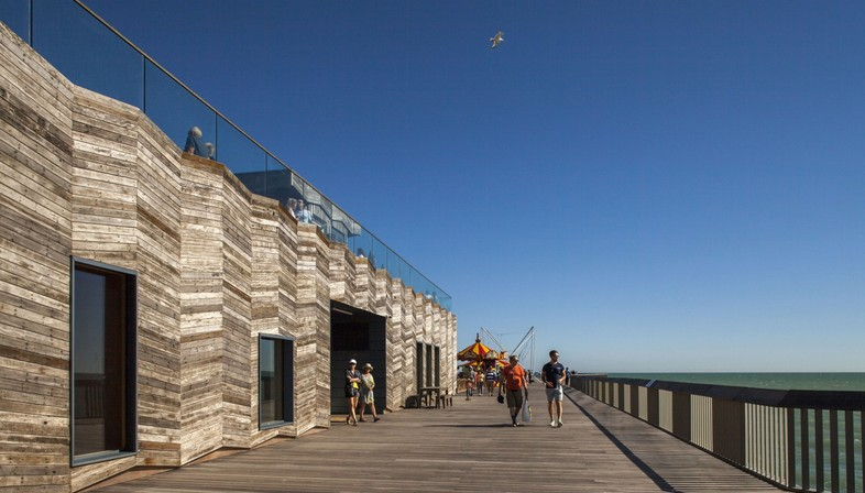 dRMM Architects, restoration of the Hastings Pier