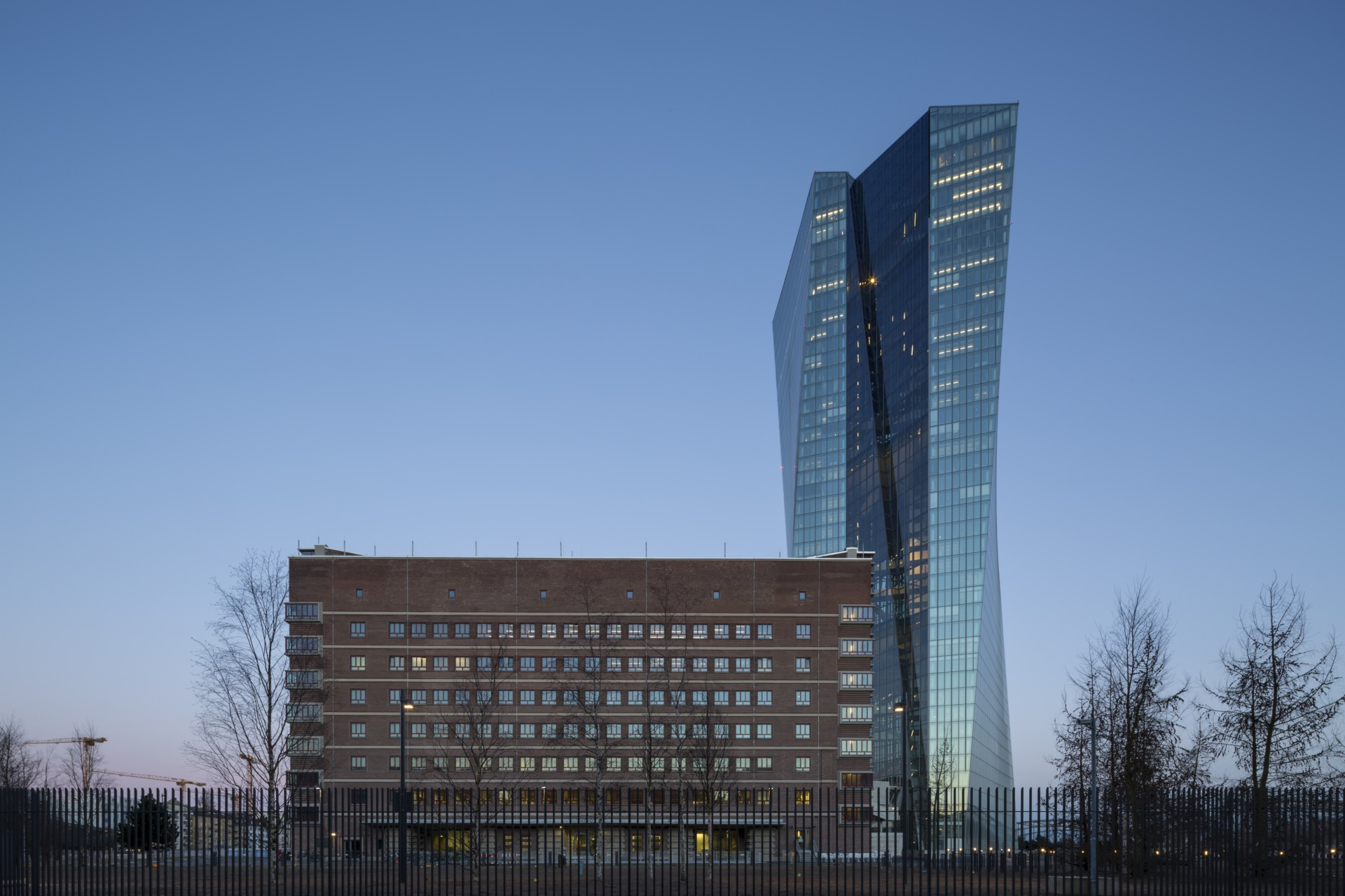 Coop Himmelblau Ecb Offices Frankfurt Floornature