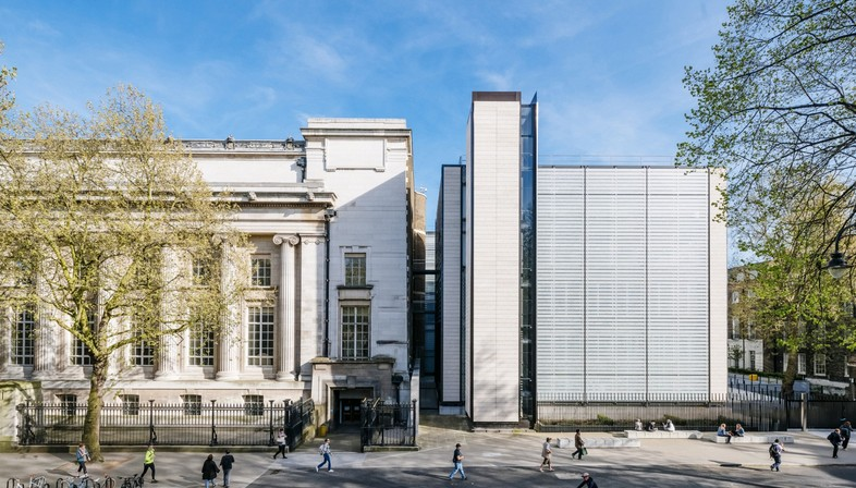 Rogers Stirk Harbour British Museum World Conservation and Exhibitions Centre London