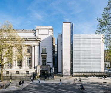 Rogers Stirk Harbour British Museum World Conservation and Exhibitions Centre Londra