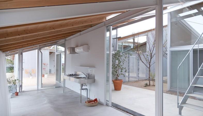 Sanaa Kazuyo Sejima Amp Associates Nishinoyama House Kyoto