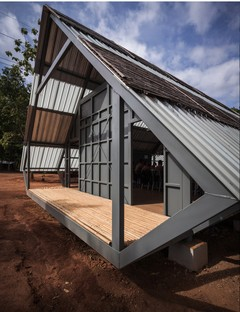 Post Disaster School by Vin Varavarn Architects wins the 2017 Barbara Cappochin International Prize for Architecture