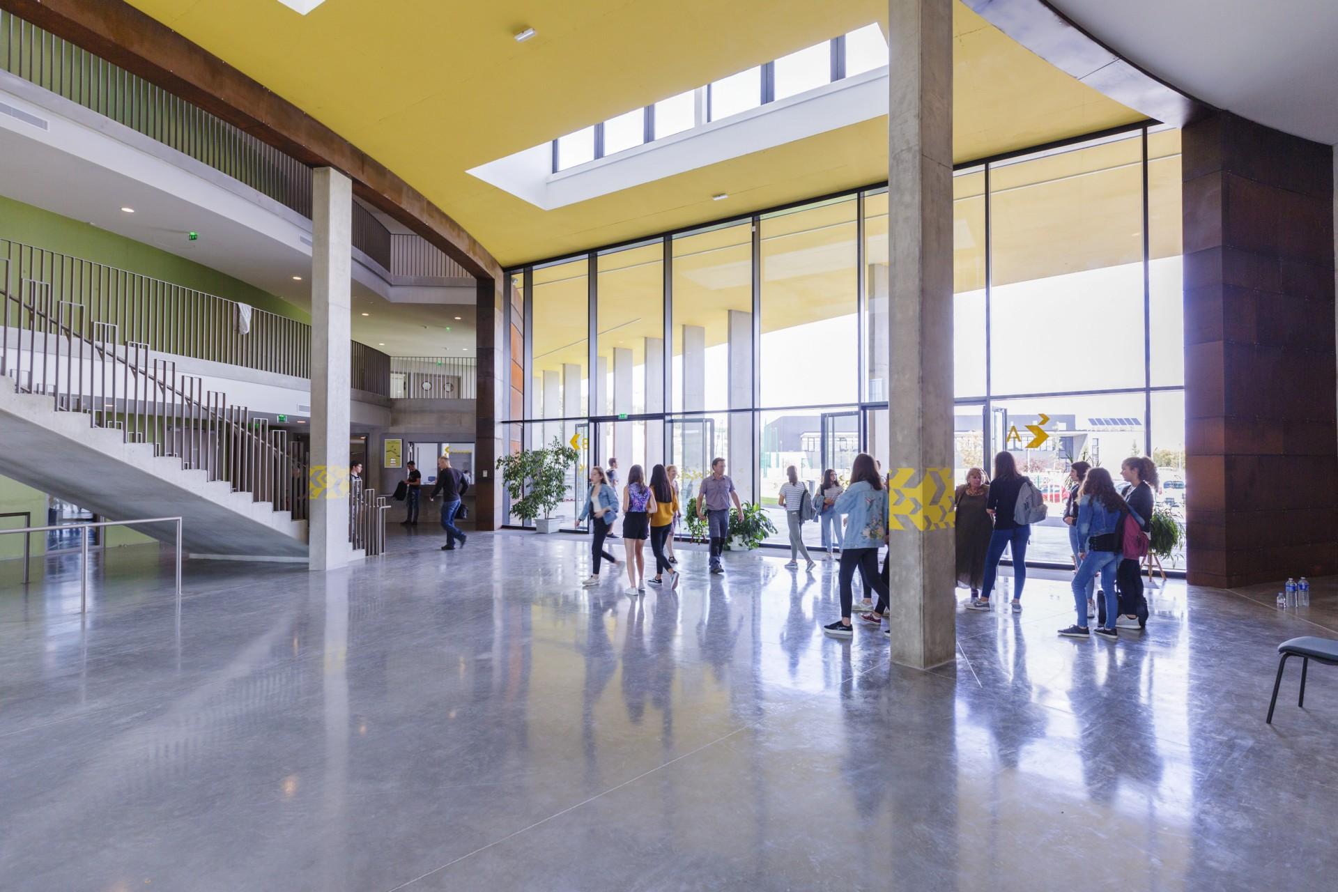 Kardham Cardete Huet Architecture Nelson Mandela Secondary