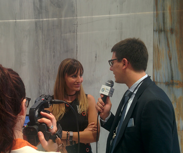 The Iris Ceramica Group meets with the press at Cersaie 2017