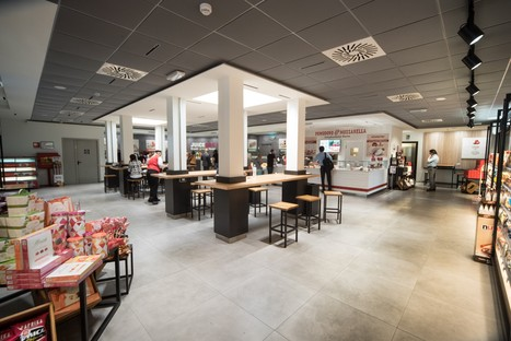 Iosa Ghini Associati: new bridge restaurant in Novara