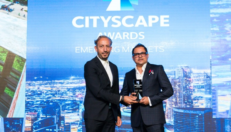 Rafiq Azam wins the Cityscape Awards for Emerging Markets 2017