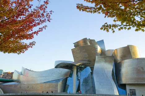 The 20th anniversary of the Guggenheim Museum, Bilbao, by Frank Gehry