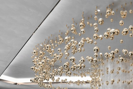Precious floating bubbles by AD Architecture for Lonshry Jewellery