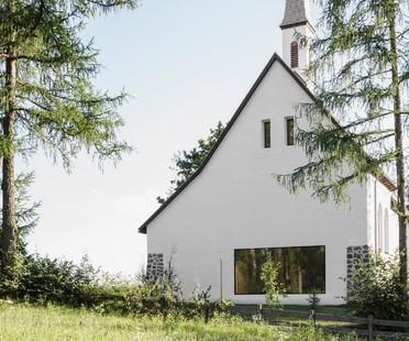 Messner Architects, the Church of San Giuseppe nel Bosco in Stella di Renon