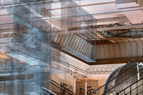 Edoardo Tresoldi: Aura, a site-specific installation in Paris