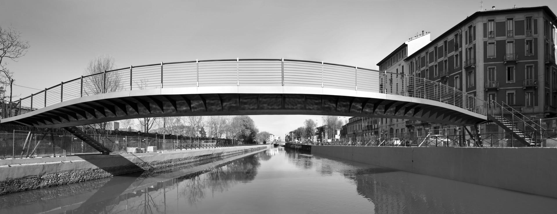 The BIM&DIGITAL Award 2017 goes to the bridges over the Naviglio Grande in Milan