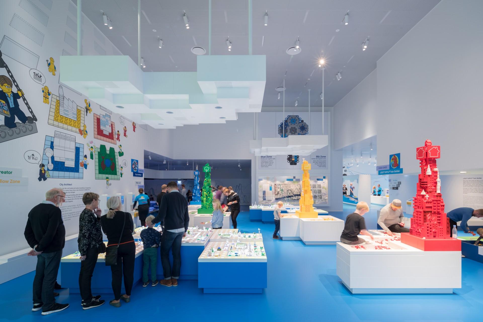 BIG Bjarke Ingels Group: The Lego Brick House Billund Denmark