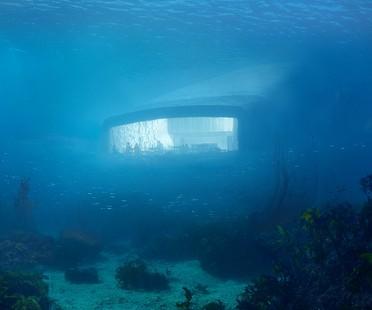 Snøhetta designs Under, Europe's first underwater restaurant