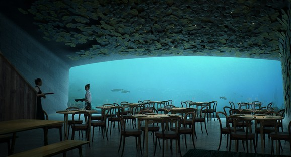 Snøhetta designs Under, Europe's first underwater restaurant