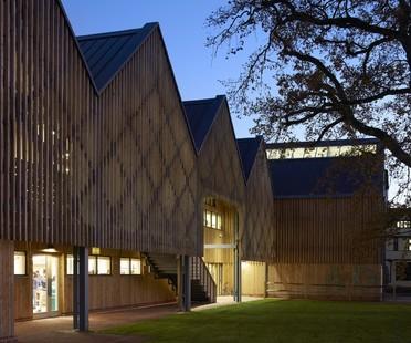 Feilden Clegg Bradley Studios Art and Design Building, Bedales School, Hampshire