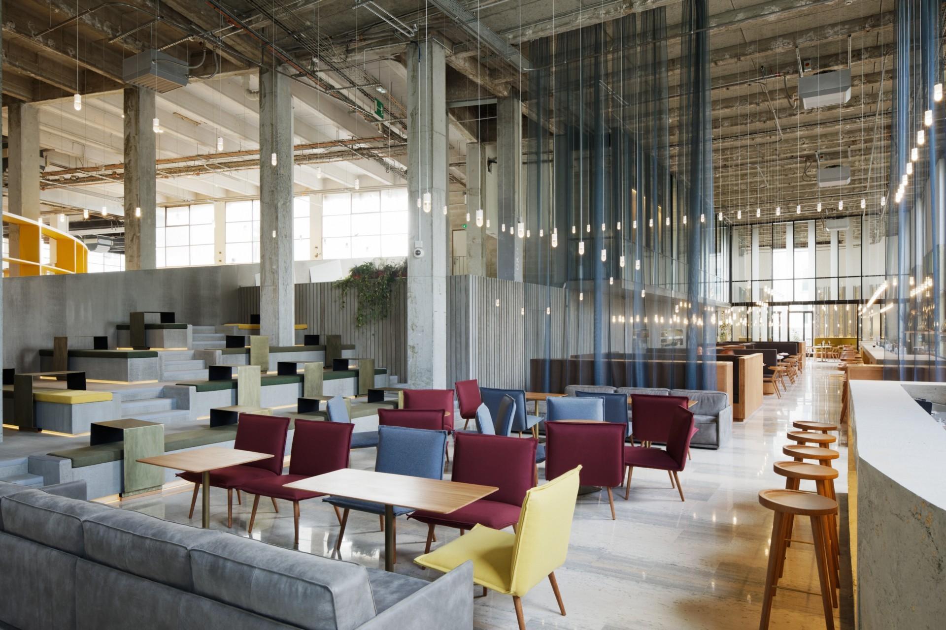 Lina Ghotmeh Architecture Les Grands Verres Restaurant