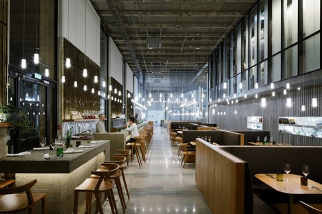 Lina Ghotmeh Architecture Les Grands Verres restaurant, Palais de Tokyo, Paris