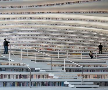 MVRDV Tianjin Binhai Library: an ocean of books