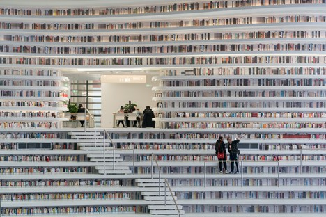 MVRDV Tianjin Binhai Library: an ocean of books