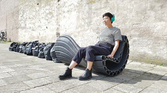 The New Raw and 3D printing with plastic wastes