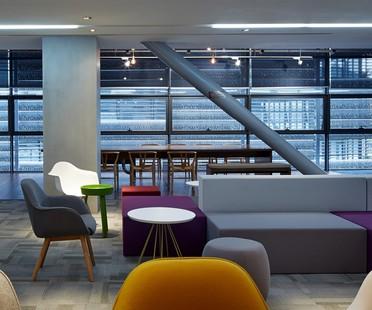 Vanke's new offices designed by BLVD