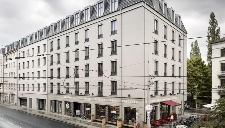 Architekten In Dresden tchoban voss architekten albia residence in dresden