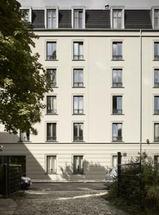 Tchoban Voss Architekten Albia student residence in Dresden