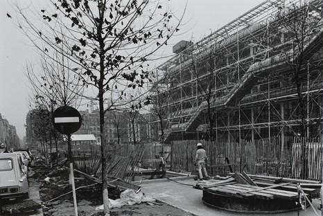 Renzo Piano et Richard Rogers exhibition at Centre Pompidou, Paris