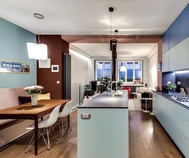 Pisi Design Architects Apartment in the Champ de Mars, Paris