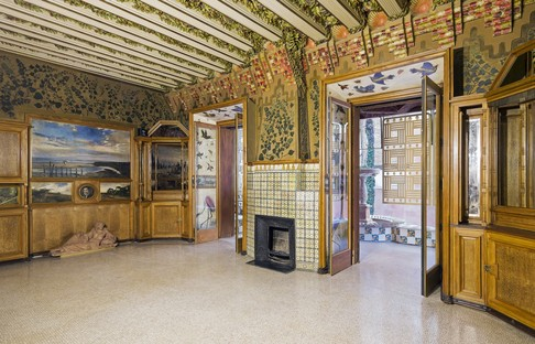 Gaudì's first project, Casa Vicens in Barcelona, opens to the public