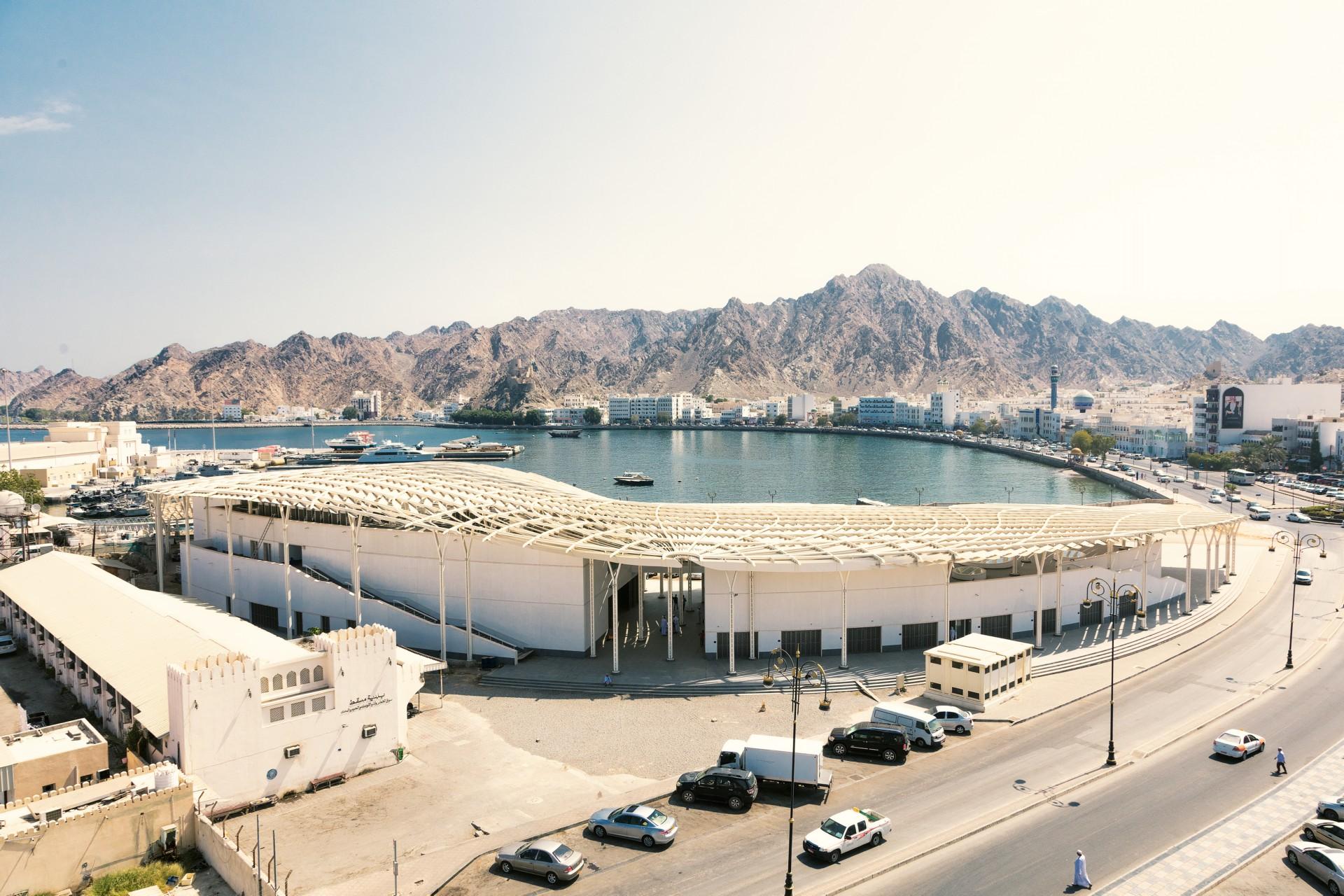 Snøhetta completes the Muttrah Fish Market - Oman