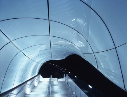 Zaha Hadid's Hungerburg funicular railway in Innsbruck is 10 years old