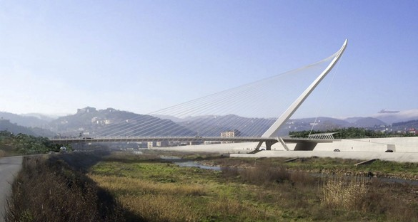 Calatrava's new bridge in Cosenza inaugurated