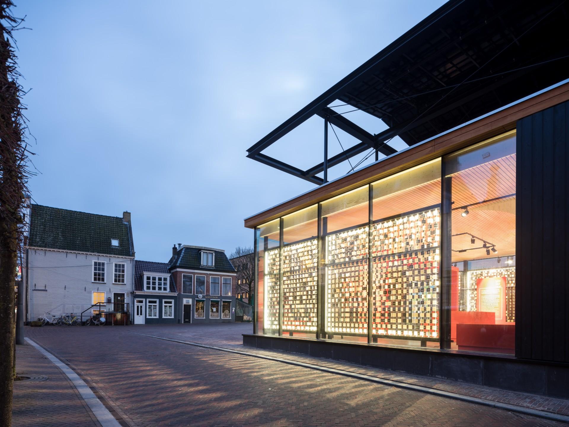 Powerhouse Company Obe Pavilion in Leeuwarden European Cultural Capital of 2018
