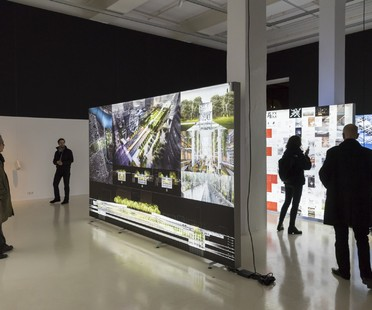 Dominique Perrault exhibition: The Groundscape Experience, Aedes Architecture Forum