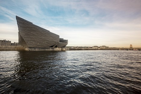 Kengo Kuma's V&A Dundee due to open in September