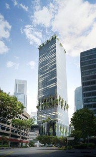 BIG and CRA: Nature and architecture in the Singapore Tower