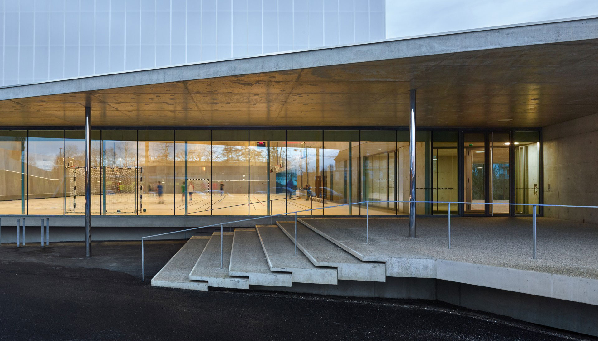 Dominique Coulon & associés Human Rights Sports Centre Strasbourg