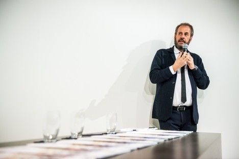 Mario Cucinella comes to SpazioFMG for The Architects Series