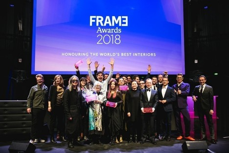Winners of the Frame Awards for interior design at Westergasfabriek in Amsterdam