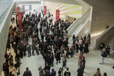 IRIS CERAMICA GROUP at Salone del Mobile furniture show in Milan