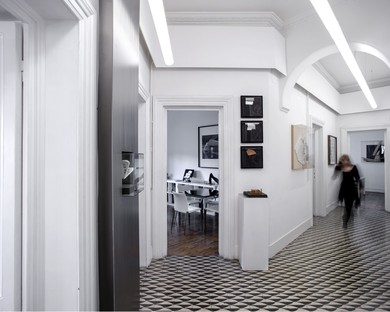 Home and studio: two interior designs by Schiattarella Associati