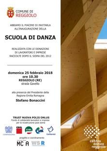 Mario Cucinella School of Dance in Reggiolo