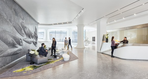 Zaha Hadid Architects 520 West 28th and Hufton+Crow's photographs