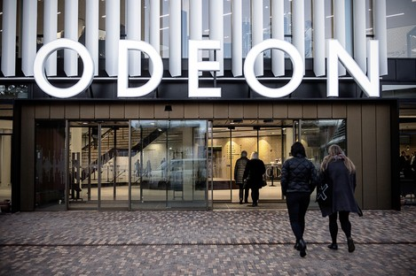 C.F. Møller Architects Odeon Music and Theatre Hall in Odense
