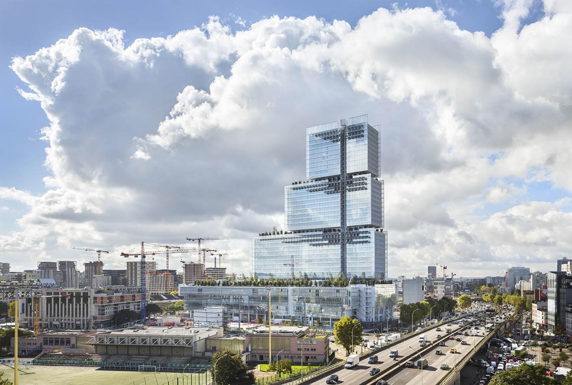 Renzo Piano Building Workshop Palais De Justice Paris