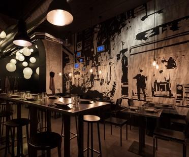 Japanese atmospheres of interior design and art in Milan